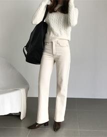 Dalph stitch pants
