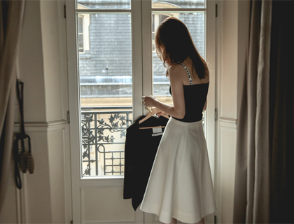 Dion A-line skirt