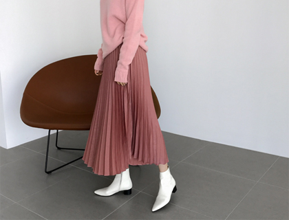 Luna pleats skirt