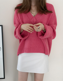 Yuno leather skirt
