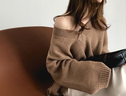 Merino-v knit