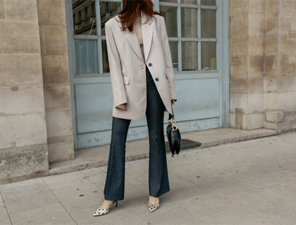 Sophie boots-cut pants