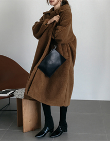 Bear long coat
