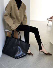 Buntto zipper leggings
