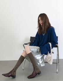 Shining color skirt