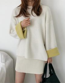 Fresh angora knit
