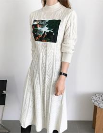 Ruso knit dress