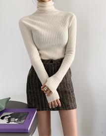 Slim pola knit