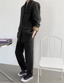 JilSan herringbone pants