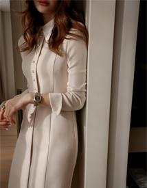 Collar jinju dress
