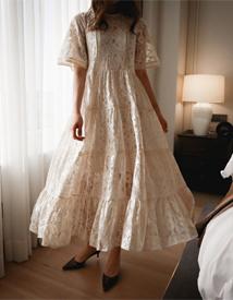Izabella lace dress *slip set*
