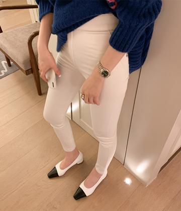 Band skinny pants
