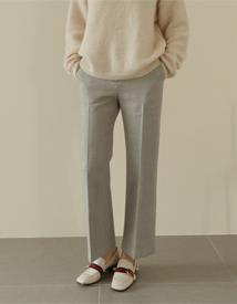 Lean wool pants