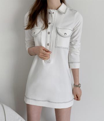 Stitch pocket dress