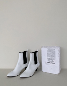 Darwell ankle boots(white) ♩