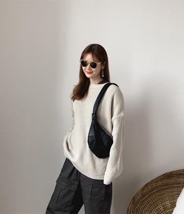 Oversize knit