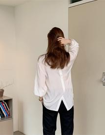 Back button shirt
