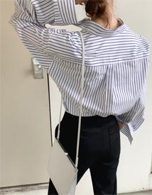 Cotton boxy shirt