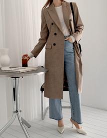Toga check coat