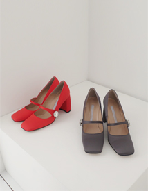 20002 cubic pumps heel ♩