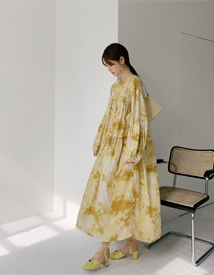 Thursday print dress