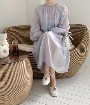 Lorrain long dress *slip set*