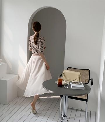 Shasha plain skirt