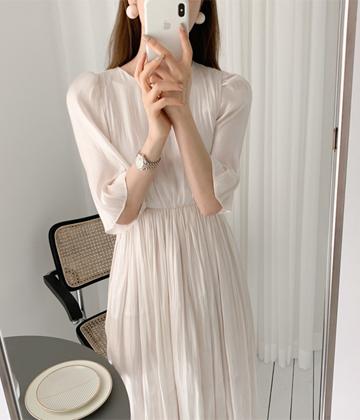 Shimmer long dress
