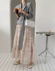 Cancan long skirt