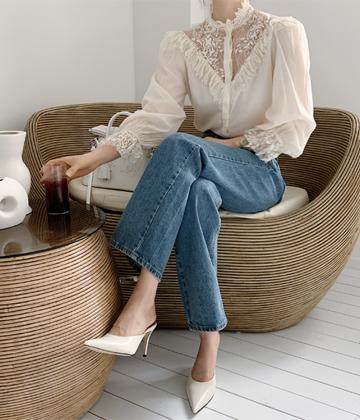 Margaret lace blouse