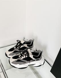 Combi ugly sneakers
