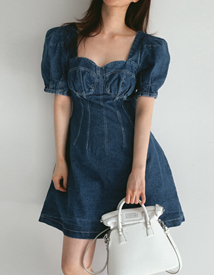 Lovely denim dress