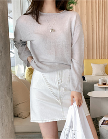 Jennie stitch skirt