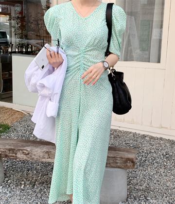 Macaron long dress