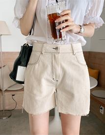 Natural Stitch shorts
