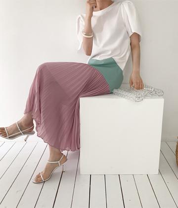 Color layere dress