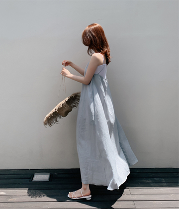 String bustier dress