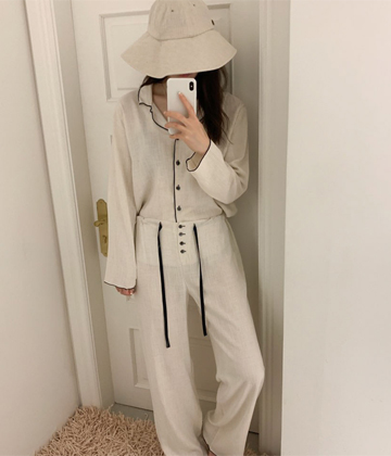 Linen pajama