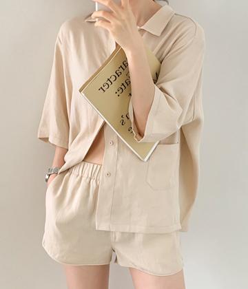 Daily linen shirt