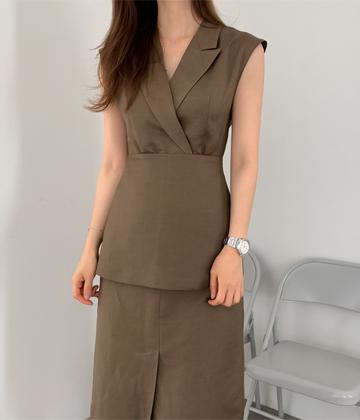 Layered piece dress