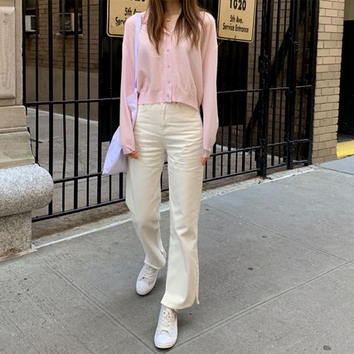 Basic cotton pants