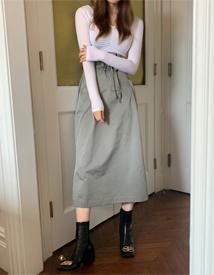 Casual string skirt