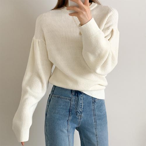 Luna round knit