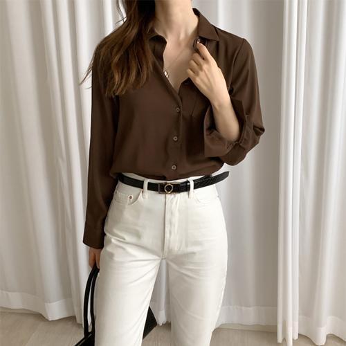 Basic normal blouse