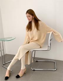 Daily golgi knit skirt