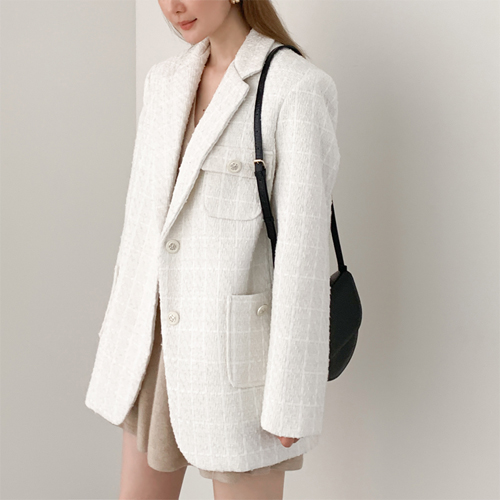 Classic tweed jacket