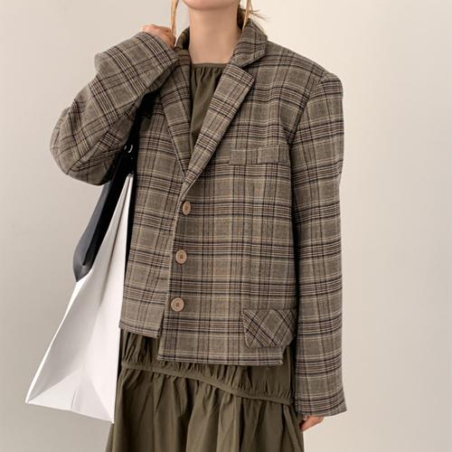Lisa check jacket