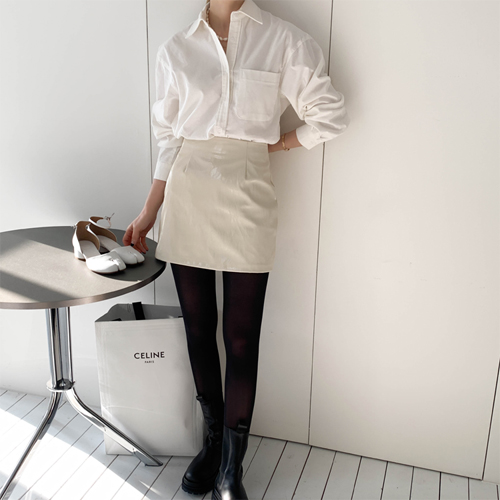 Puckle mini skirt