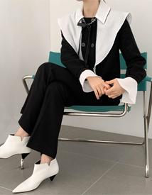 Shasha ribbon blouse