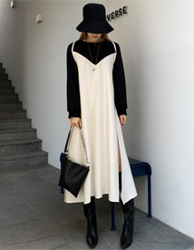 MTM layered dress